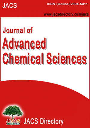 Journal Of Advanced Chemical Sciences JACS