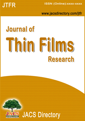 Journal Of Thin Films Research JTFR